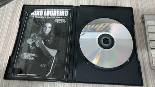 kiko loureiro os melhores solos e riffs do angra dvd