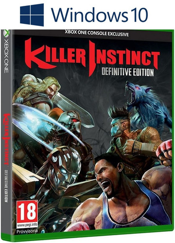 killer instinct: definitive edition - windows 10 - online