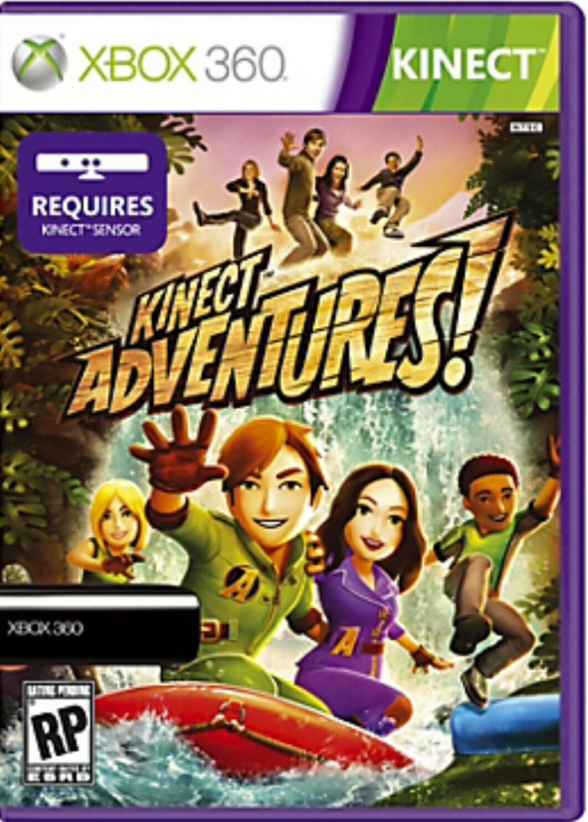 Kinect Original Microsoft Xbox 360 20 Juegos K Adventures