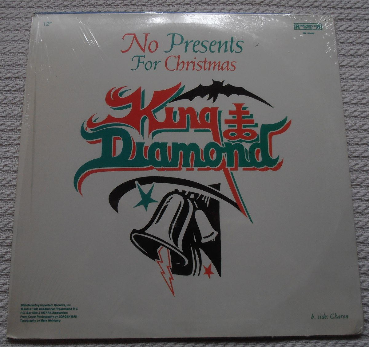 King Diamond - No Presents For Christmas (single 1ra. Ed.) - $ 1.200 ...