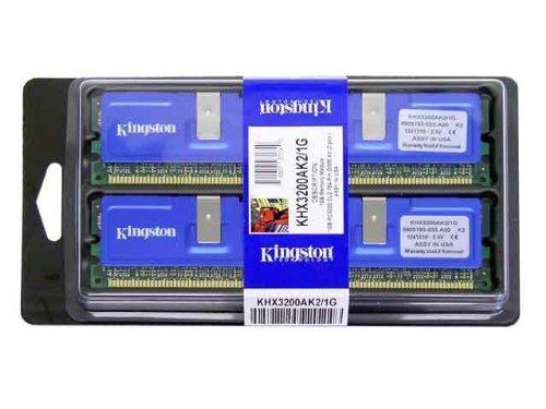 kingston khx3200ak2 1g 1gb pc3200 ddr non ecc cl2 hyper x