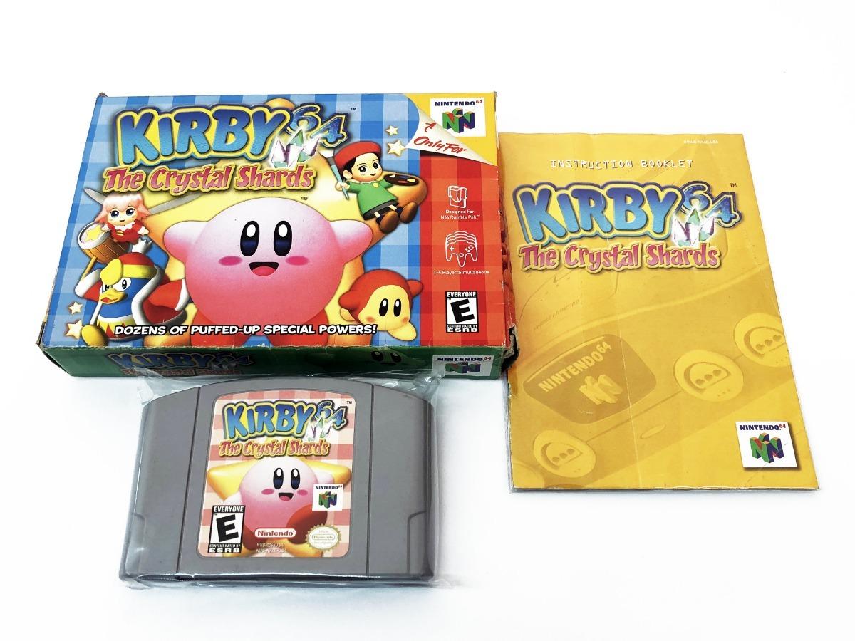 Kirby 64 The Crystal Shards Juego Original De Nintendo 64