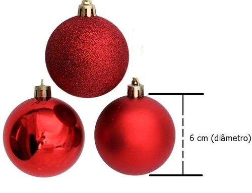 kit 10 bolas enfeite árvore de  natal 6 cm mega oferta!