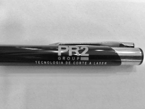 kit 10 caneta metal personalizada brinde gravação a laser