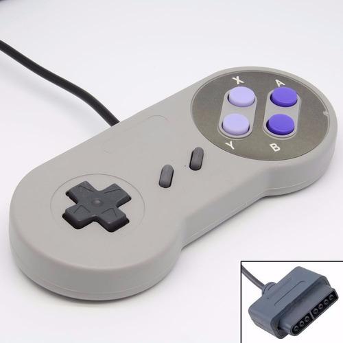 kit 2 controles super nintendo  snes joystick novo 2 und