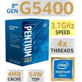kit actualización pc intel g5400 8gb ddr4 mother gigabyte