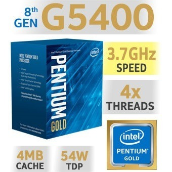 kit actualización pc intel g5400 8gb ddr4 mother msi