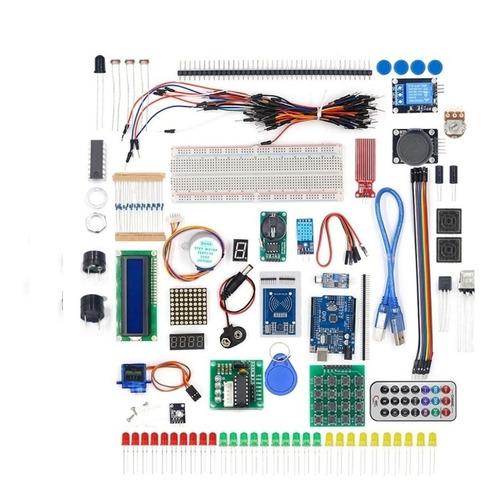 kit arduino + caja cnc motor kits de aprendizaje iniciación