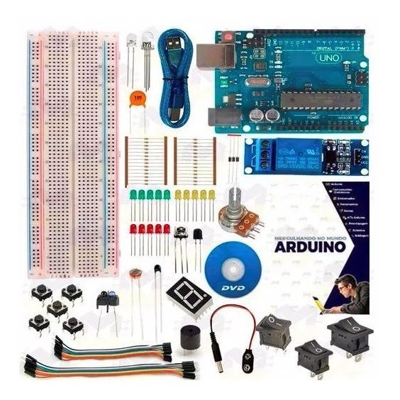 Kit Básico Arduino Uno R3 Curso