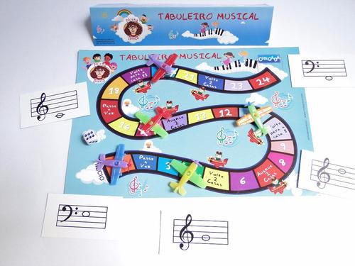 kit com 3 jogos de música - mirka brinca!