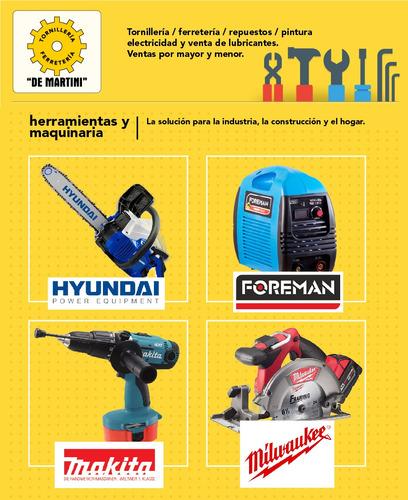 kit compresor de aire hyundai 2hp 24 l - 1 año gtía - tyt