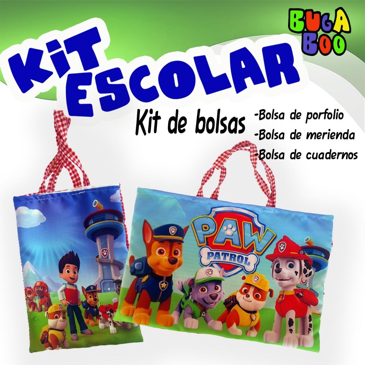 bf6391f54 Kit De Bolsa De Porfolio, Merienda Y Cuaderno-jardin Infanti - $ 250 ...