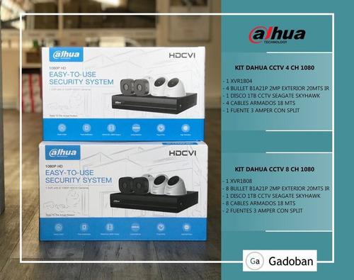 kit de cámaras de seguridad dahua