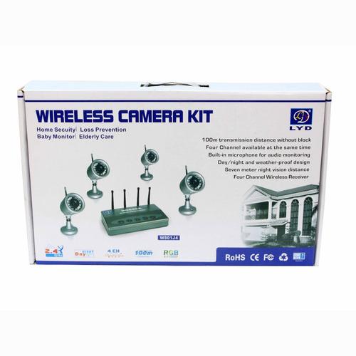 kit de cámaras inalámbricas de seguridad