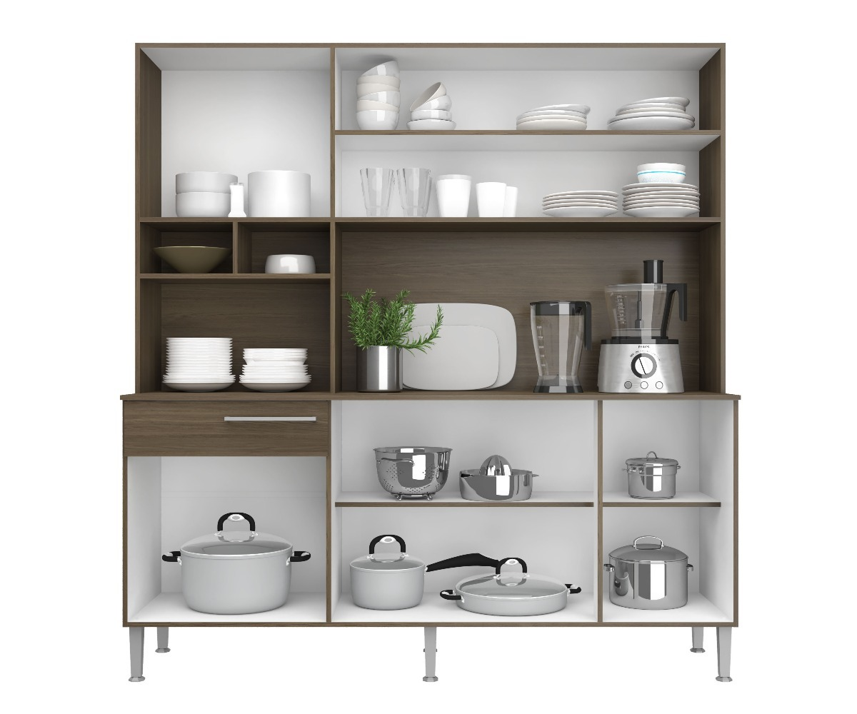 Kit de cocina compacta mueble cocinas divino en mercado libre - Muebles de cocina en kit ...