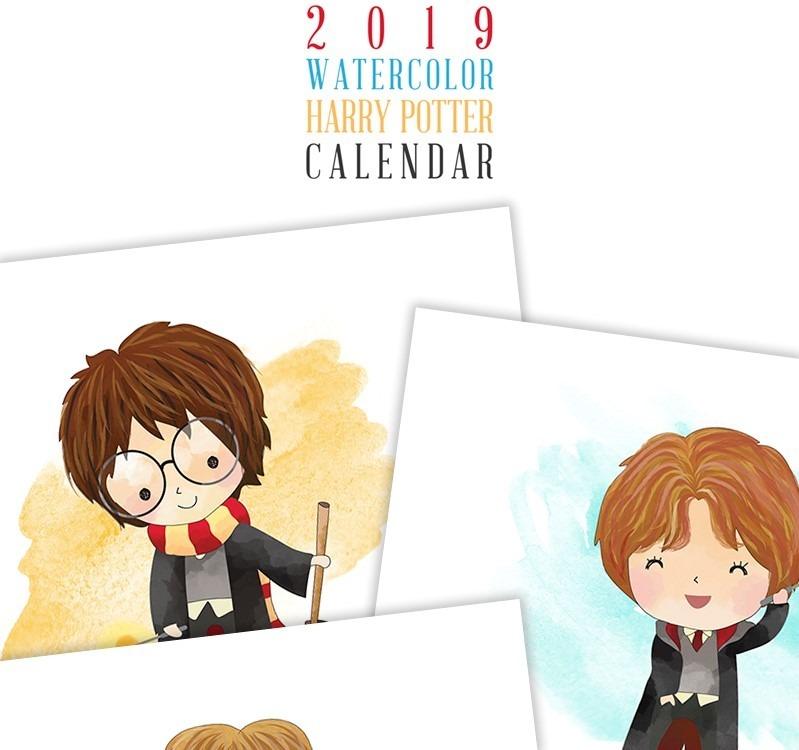 Calendario Harry Potter.Kit De Imagenes Calendario Harry Potter 2019