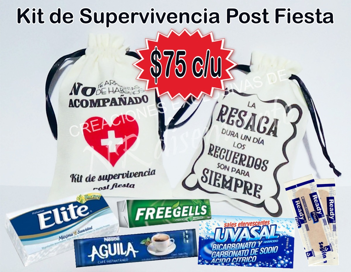 Post De Cumpleanos.Kit De Supervivencia Post Fiesta Cumpleanos 15 Boda Eventos
