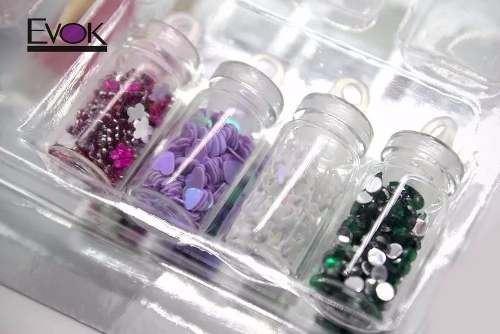 kit de uñas para decorar evok