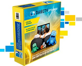kit directv prepago antena decodificador hd tv 1 control