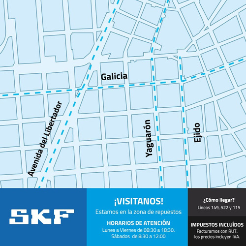 kit distribución skf fiat palio ii weekend 1.7d 05-10
