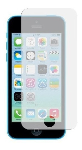 kit funda estuche tpu y protector d pantalla iphone 5c apple