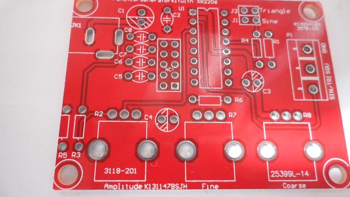 Circuito Xr2206 : Kit generador de funciones xr envio gratis en
