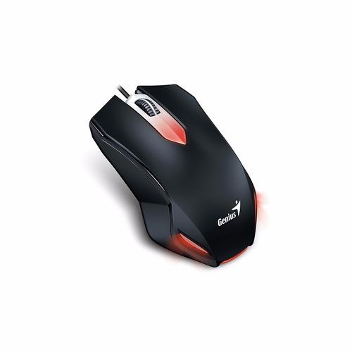 kit genius gx kmh 200 gamer teclado + mouse + auricular