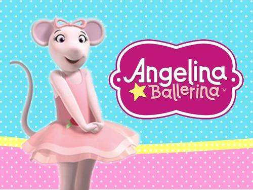 kit imprimible angelina ballerina candy bar golosinas cod01