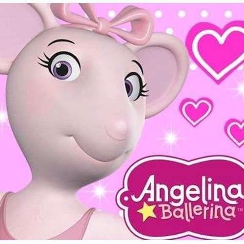 kit imprimible angelina ballerina diseñá tarjetas , cumples