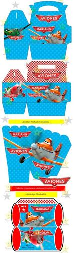 kit imprimible aviones disney candy bar golosinas cumples