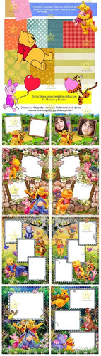 kit imprimible candy bar golosinas winnie pooh cumples cod02