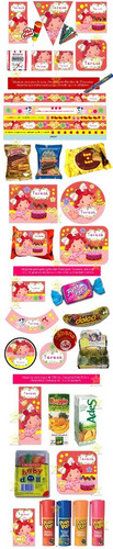 kit imprimible frutillita bebe candy bar golosinas cumples
