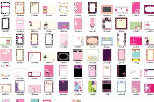 kit imprimible invitaciones 15 años tarjetas mega pack nuevo