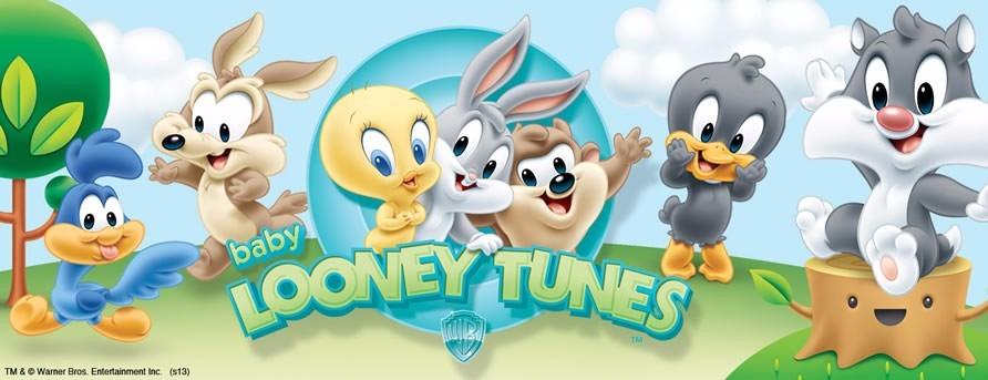 Kit Imprimible Looney Toons Baby Cumpleños Tarjetas
