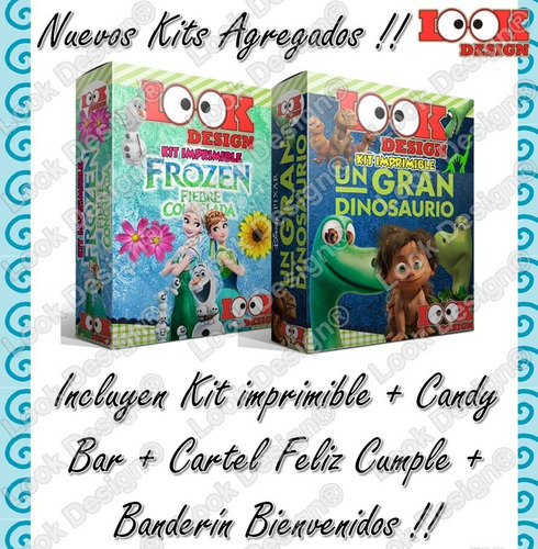 kit imprimible mega empresarial oro candy bar nuevos 1