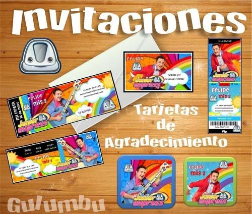 Kit Imprimible Topa Junior Express Disney Candy Bar Editable