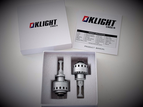 kit lampara luces led cree originales no xenon no cob h4 h7