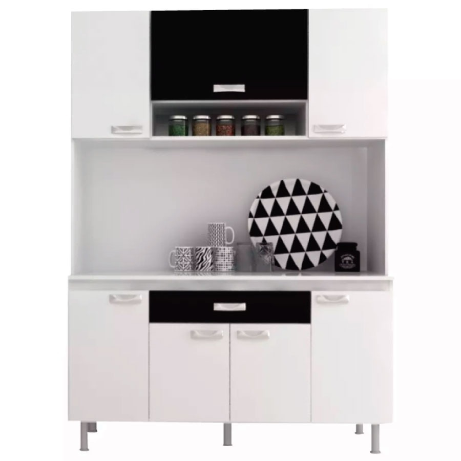 Kit Mueble Cocina 7 Puertas 1cajón Alacena - Narvaja - $ 2.090,00 en ...