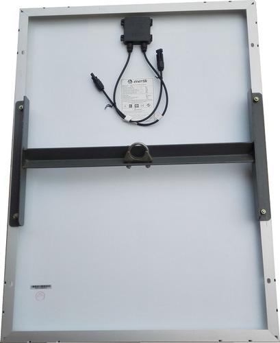 kit, panel solar 50w, soporte, regulador, cables, terminal