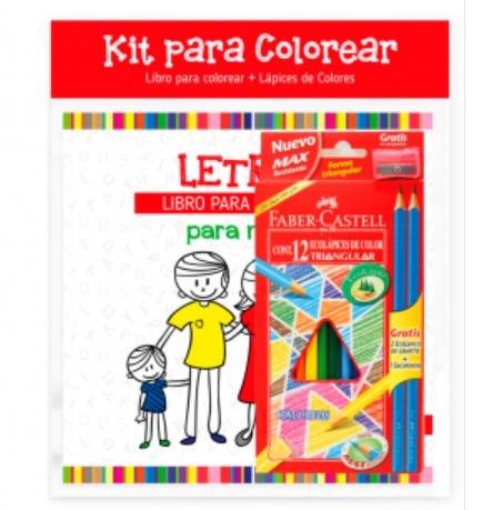 kit para colorear