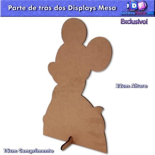 kit patati patatá 1 totem chão 80cm e 6 displays mesa 22cm