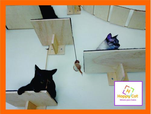 kit prateleira para gatos c/ 10 unidades--
