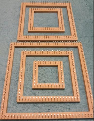 kit quadrado manual tear de prego - 05 teares - os melhores