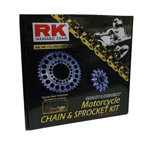 kit relação transmissão rk c/ corrente suzuki v-strom dl 650