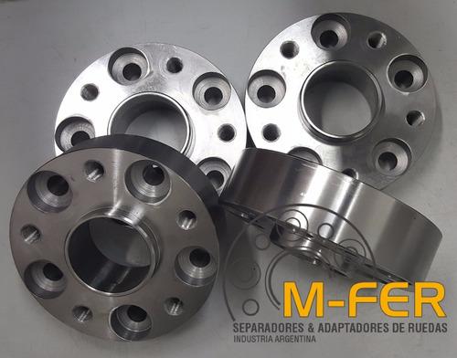 kit separador de ruedas vw amarok 40mm en acero 5x120 llanta