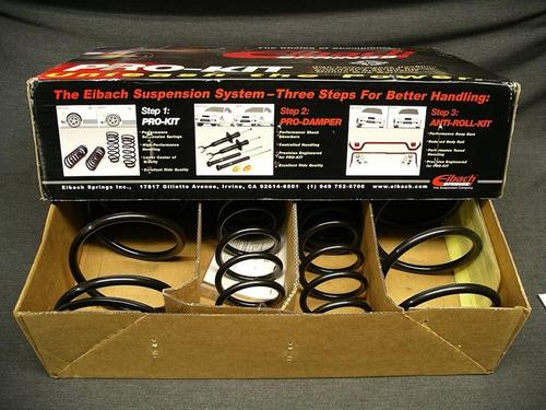 kit suspension eibach pro-kit espirales progresivos bilstein