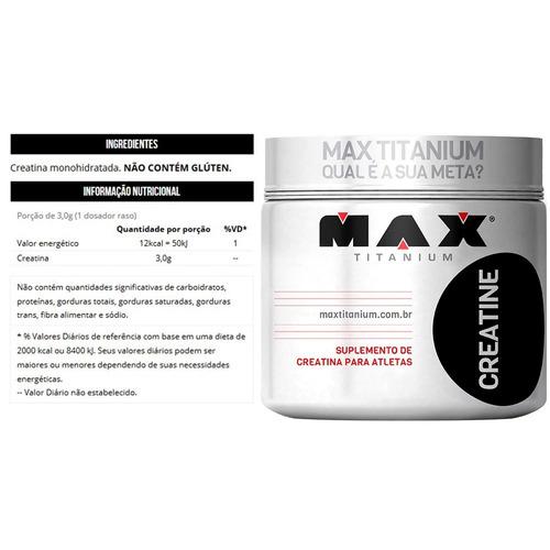 kit whey protein feminino + bcaa + creatina + dextrose - max