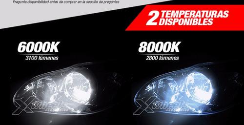 kit xenon bi xenon h4 instalado!! 6000k 8000k