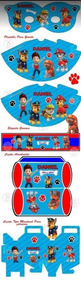 Kits Imprimibles. Todos Los Personajes. - $ 300,00 en Mercado Libre