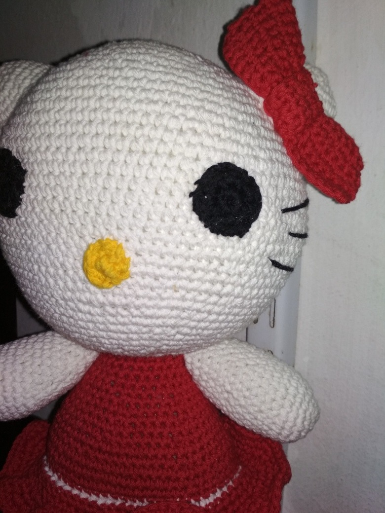 Kitty En Crochet Amigurumi - $ 600,00 en Mercado Libre